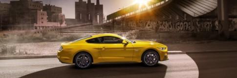 Finalmente la Mustang in Europa