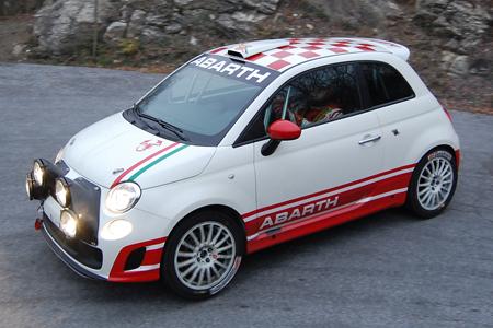 Rally Ecco La 500 Abarth R3t Su Strada